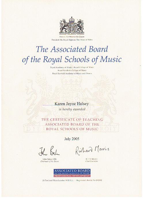 Karen Leeds Piano Teacher Further Details About Me